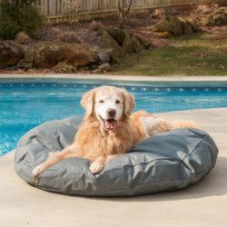 Outdoor Round Waterproof Dog Bed