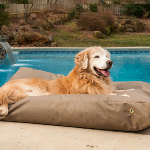 Snoozer Outdoor Rectangle Dog Bed