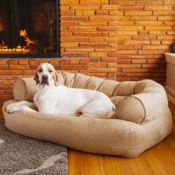 Snoozer Luxury Overstuffed Dog Sofa