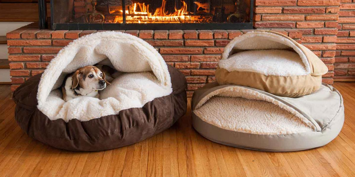 cozy-cave-dog-bed-collection