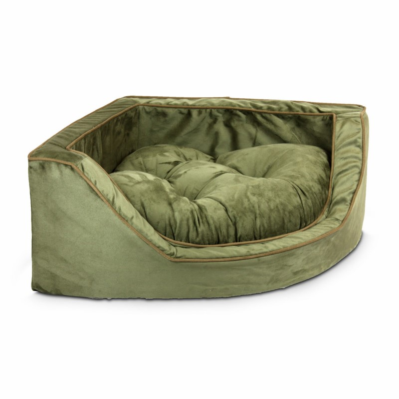 Replacement Cover Snoozer Luxury Overstuffed Corner Dog Bed W Microsuede