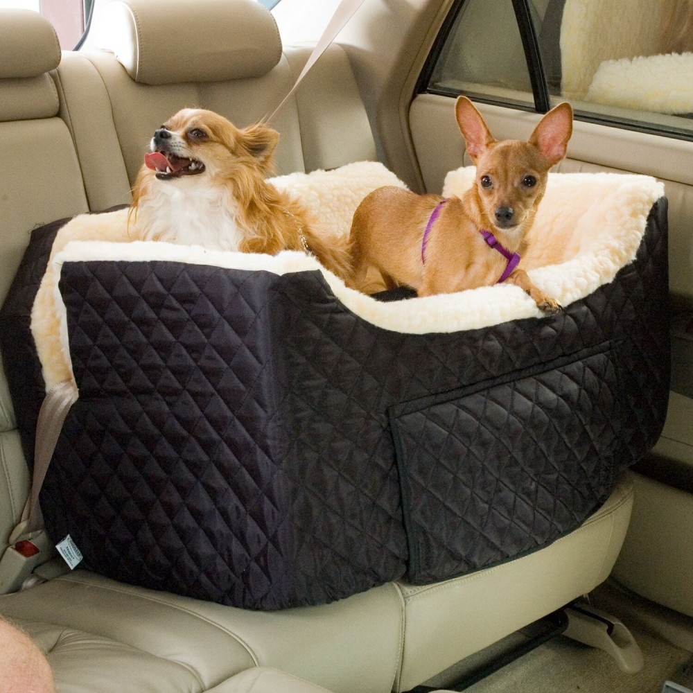 Large Lookout II Dog Car Seat With Storage Tray Previous Next
