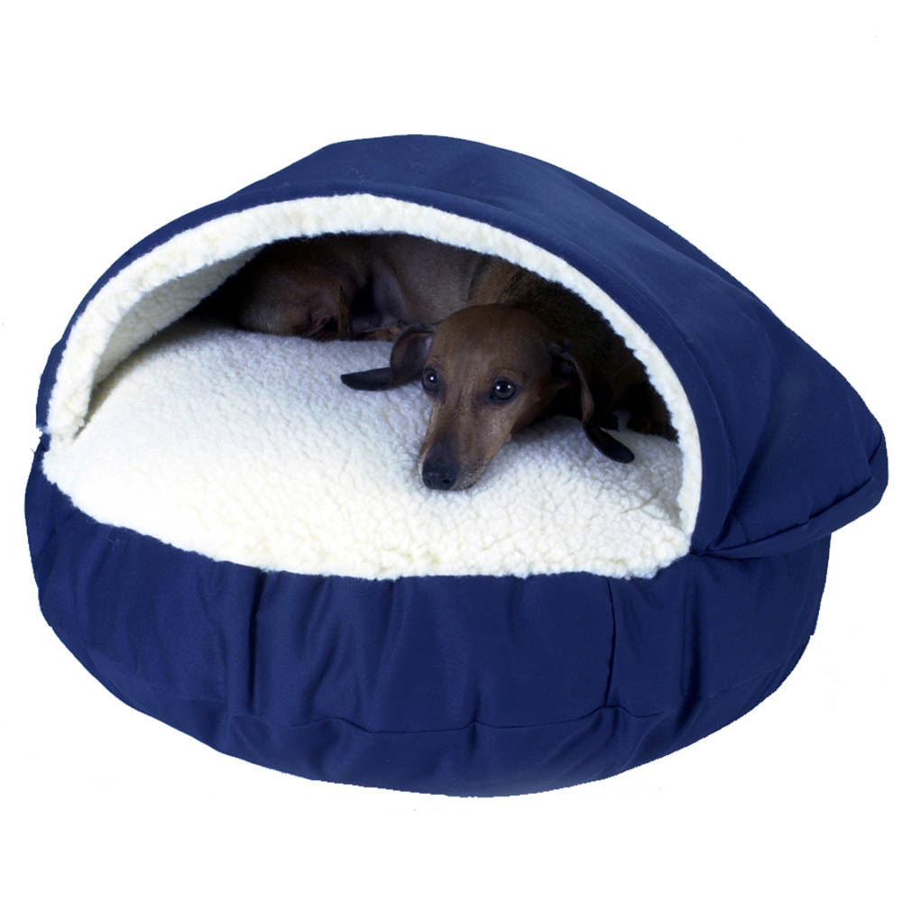 Covered Dog Beds For Large Dogs