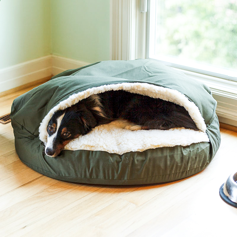 orthopedic-cozy-cave-dog-bed-snoozer-pet-products