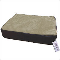 replacement cover u2013 super orthopedic lounge dog bed w cream sherpa