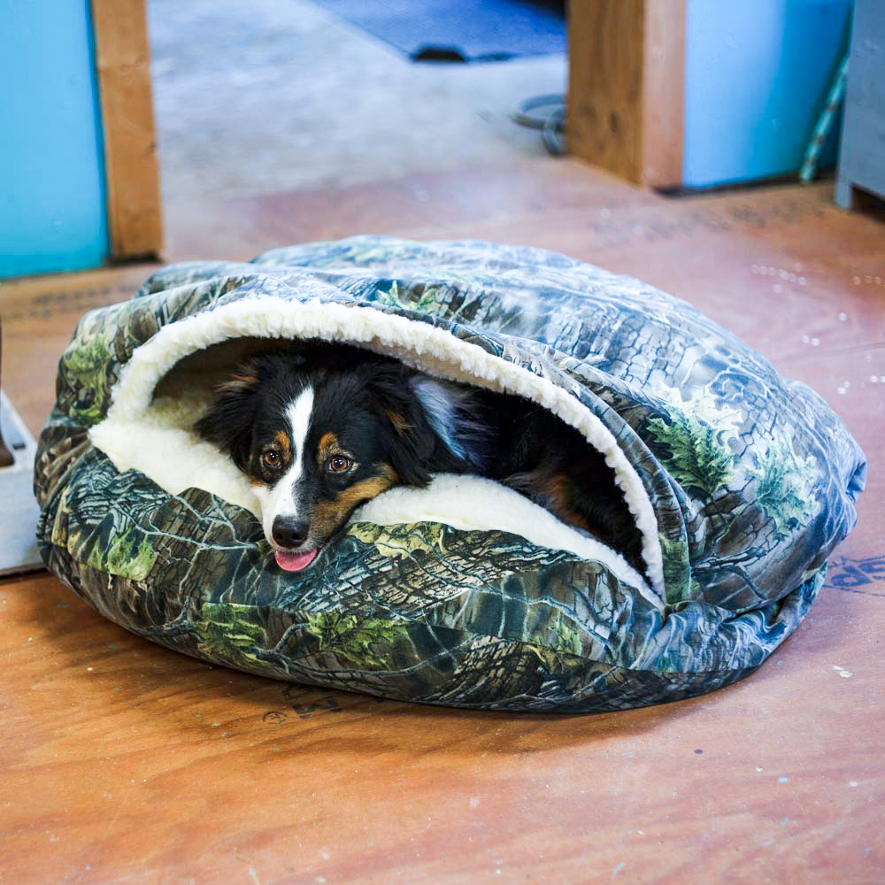 luxury-cozy-cave-dog-bed-snoozer-pet-products-untamed-collection