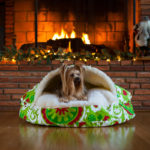 Suzani Holiday Dog Bed | Snoozer