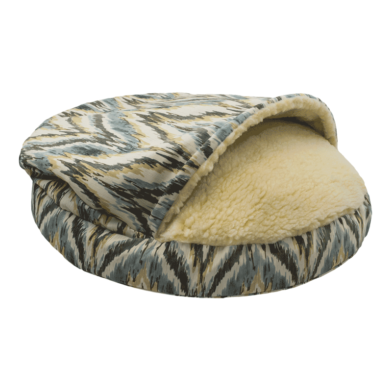 Luxury-Orthopedic-Cozy-Cave-Dog-Bed-Show-Dog-Collection-tempest-spring