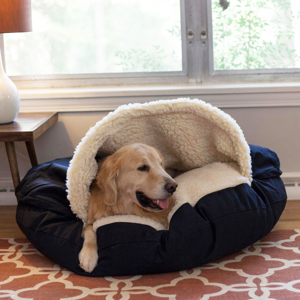 Cozy Cave™ Dog Bed