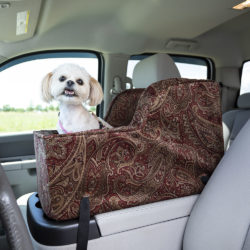 Snoozer Luxury High Back Console Dog Car Seat - Show Dog Collection