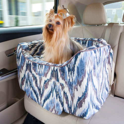 Snoozer Pet Products Luxury Lookout II Dog Car Seat - The Show Dog Collection