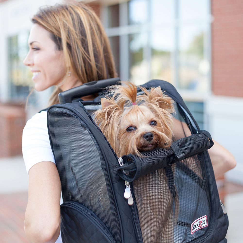 Snoozer Roll Around Travel Dog Carrier | 4-in-1 | 3 Colors/Sizes