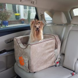 Replacement Cover - Clemson Luxury Lookout II Dog Car Seat
