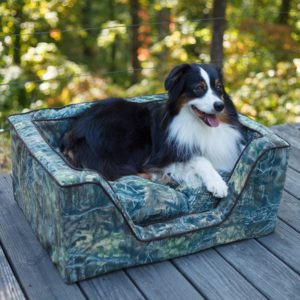 Luxury Square Dog Bed - Untamed Collection