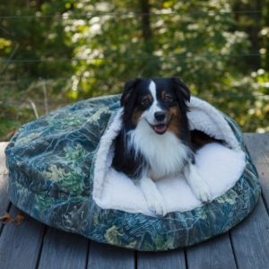 Luxury Orthopedic Cozy Cave™ Dog Bed - Untamed Collection