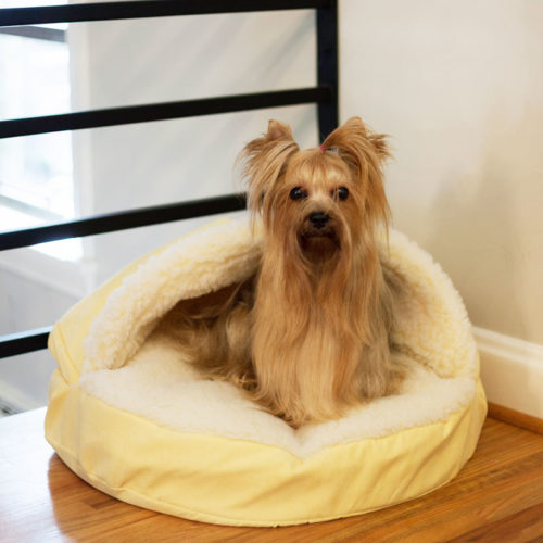 Replacement Cover - Luxury Cozy Cave™ Dog Bed with Microsuede