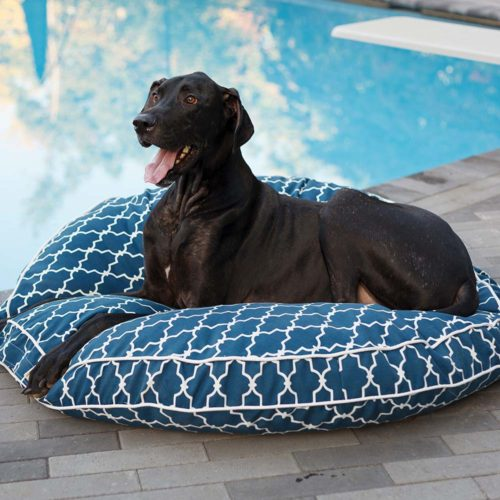 Pool & Patio Round Replacement Pillow - Snoozer Pet Products
